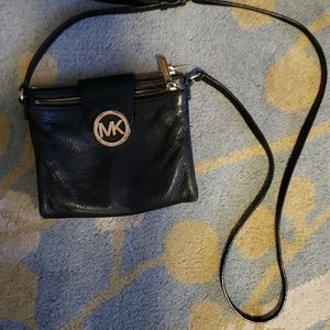 Michael Kors leather cross body